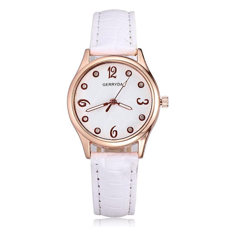 Drop ship wholesale 2015 fashion rose gold wristwatches