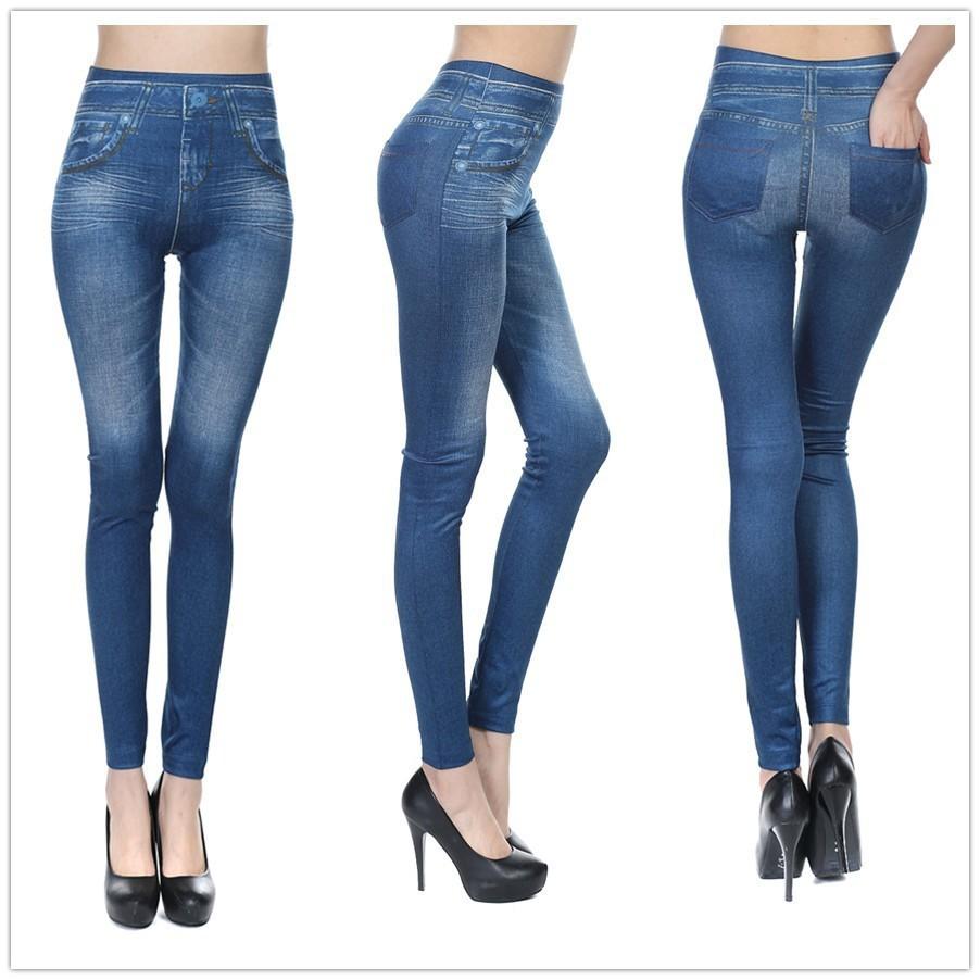 44ca381fd44 Fashion Leggings Jeans for Women Denim Pants with Pocket Slim Legging  ukraine Fitness Plus Size Leggings S-XXL Black Gray Blue – Host Leggings