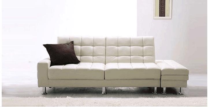 Corner Leather Sofa Multi Function Sofa Cum Bed For Home