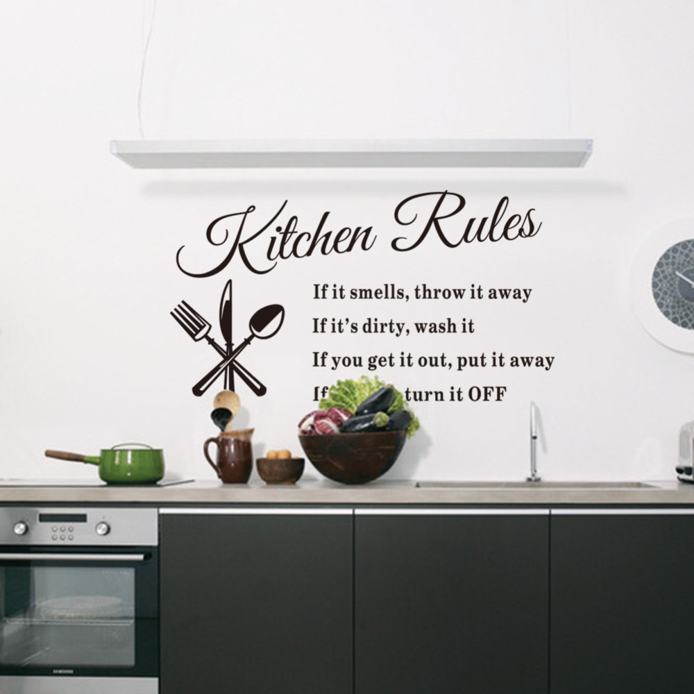 decoration cuisine stickers. Black Bedroom Furniture Sets. Home Design Ideas