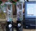 Genuine new USB Water Spray Portable Mini Speaker Water Music Fountain sound card Speakers music fountain