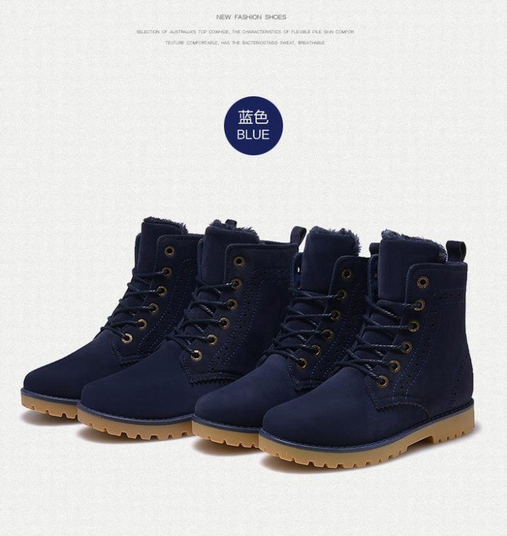 e78bae6b2a3 2015 fashion winter shoes women's winter suede boots for men ladies snow  boot botines mujer chaussure femme - reeto's