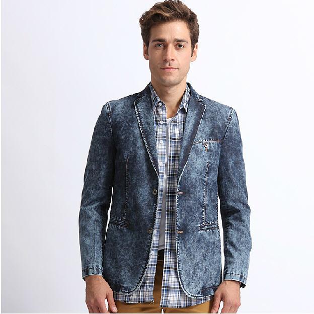 Compra chaquetas de mezclilla online al por mayor de China