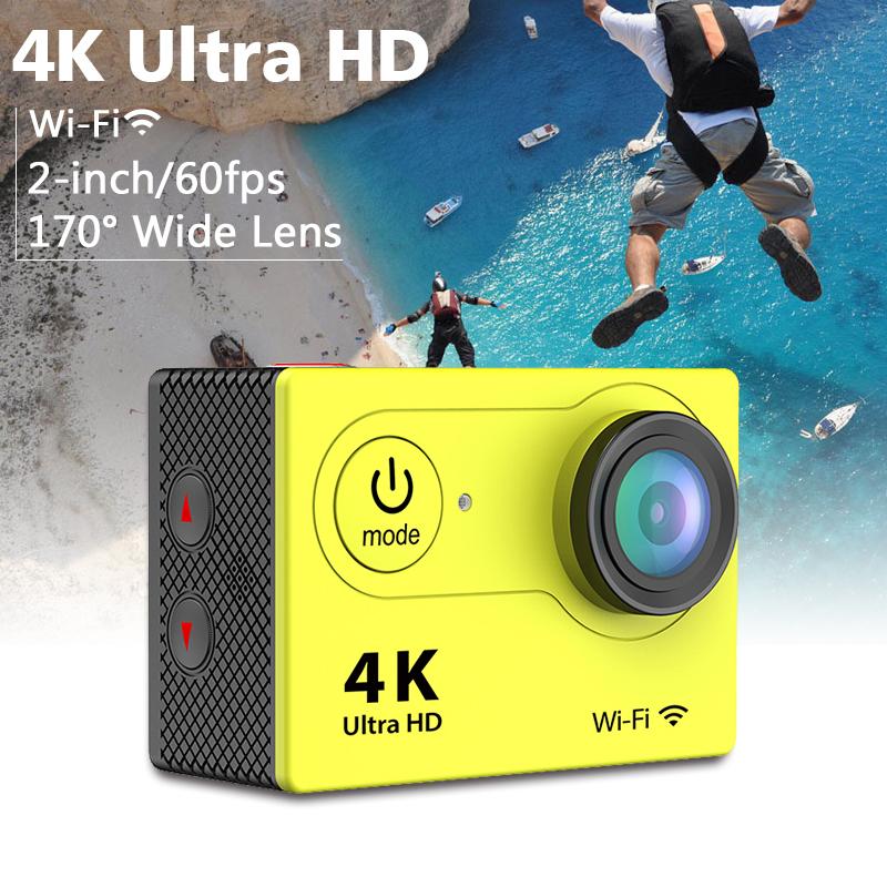 Original Ultra HD 4K Video 170 degrees Wide Angle Sports Camera 2-inch Screen 1080p 30fps SPORTS CAM Waterproof Camera sj7000