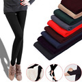 Fleece Leggings Warm Winter Faux Velvet lined Legging Knitted Thick Slim Leggings Super Elastic Legging 3