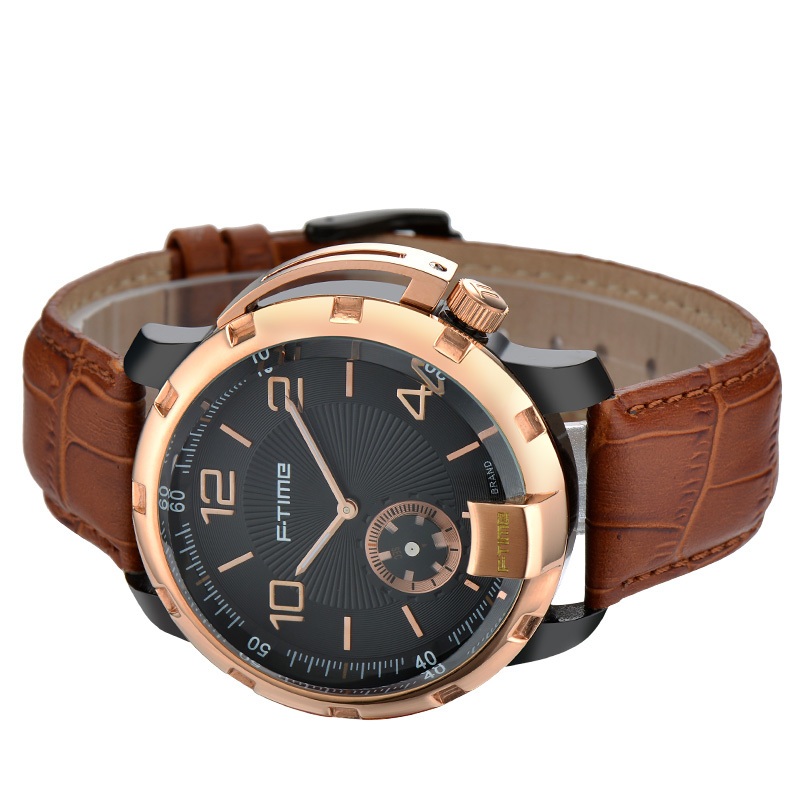 Ftime watch Italian Quartz watch men luxury brand sport