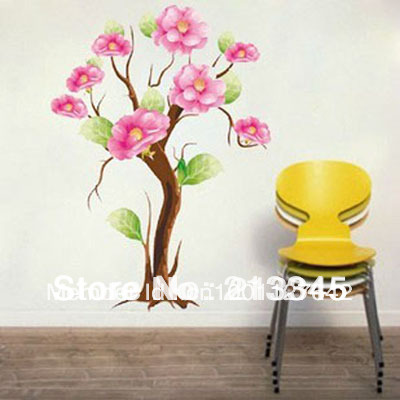 [Saturday Mall] - Country style spring home decor wall stickers art decals 3032