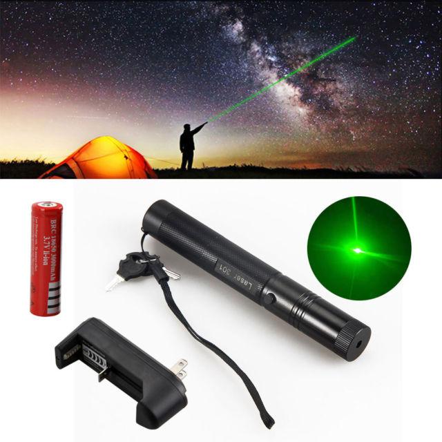 Hot Sale 2014 High Powered Burning Adjustable Focus Green