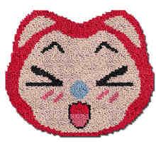 Diy tapijt 3d крюк с защелкой Наборы ковров наборы гобеленов с животным принтом пол вязание крючком tapis игла для ковра ручной работы набор нооппак...(Китай)