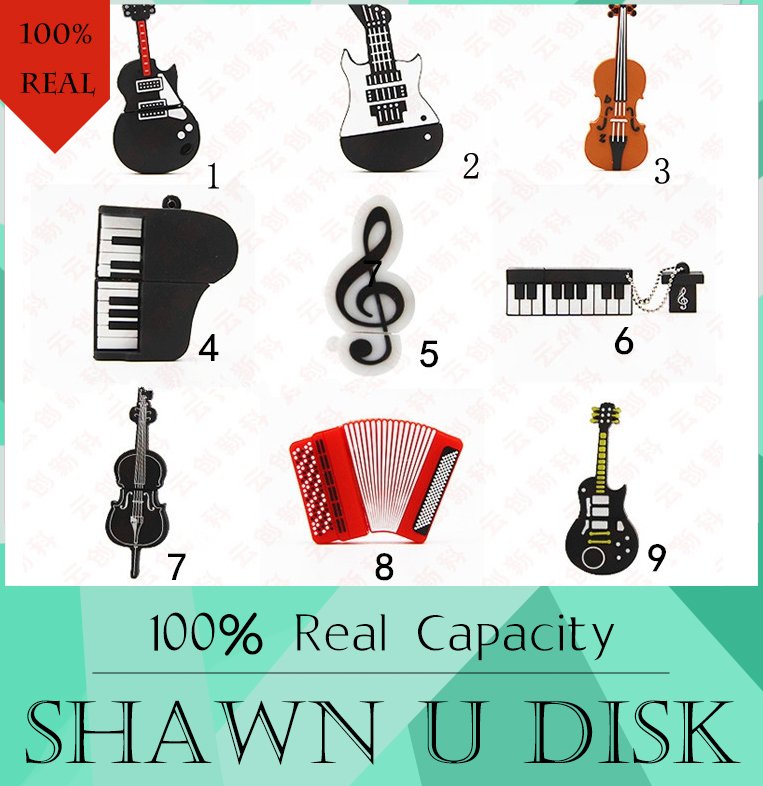 100 real capacity Retail Genuine Silicone Piano USB Flash Drive 512GB Thumb Pen drive Memory Stick