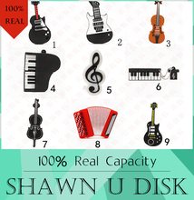100% real capacity Retail Genuine Silicone Piano USB Flash Drive 512GB Thumb Pen drive Memory Stick Flash Disk 8G 16GB 32GB gift