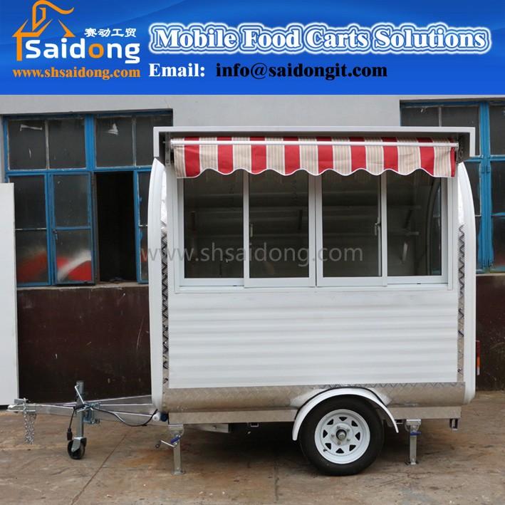 Source Mobile Burger Shop Concession Coffee Trailer Food Van