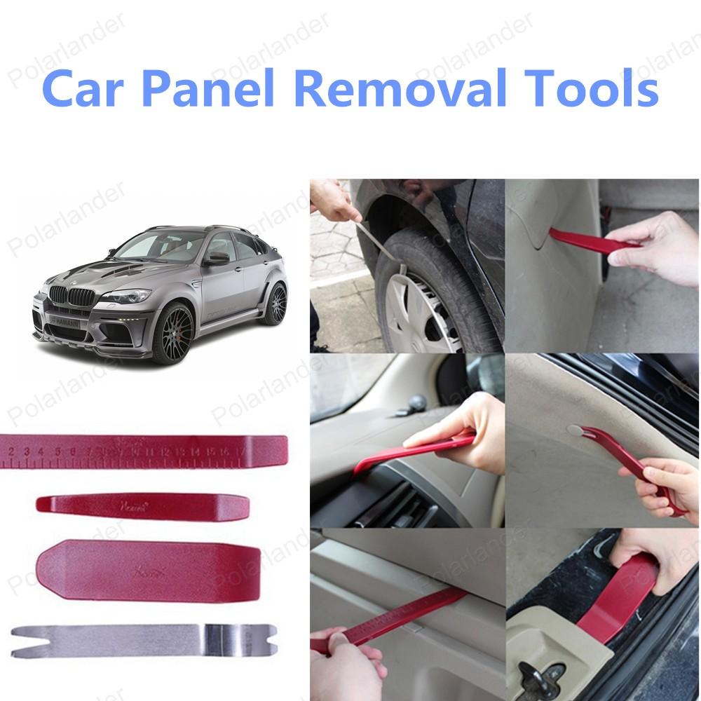 4 шт./компл. высокое качество автомобилей панель удаления инструмента-автомобилей ремонт комплект инструментов бесплатная доставка оптовая продажа