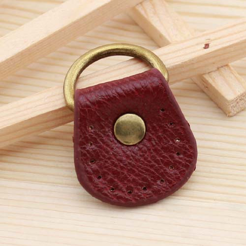 65d4eb666f 2019 Two Sided Thickening Small Oval Lichee Pattern Leather Bag ...
