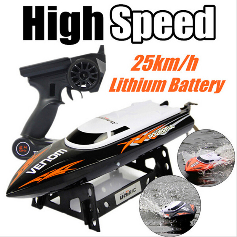 2015 new UDI001 bateau one propeller Remote control boats remote control toys 2 4GHz 4CH Water