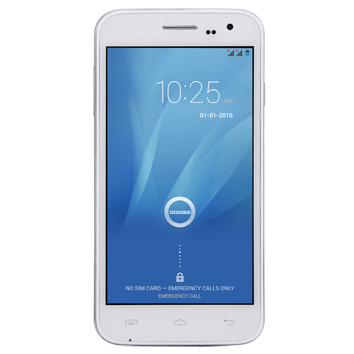 dbf459709ae DOOGEE VOYAGER2 DG310 5 Screen MTK6582 Quad Core 1 3GHz Mobile Phone  Android 4 4 2