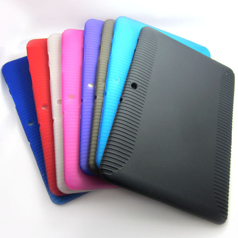 more photos ea6b8 806c4 For Samsung Galaxy TAB 2 10.1 P5100/P5110 Soft TPU Silicone Gel Cover Case  shell skin for samsung galaxy tab 2 Free Shipping