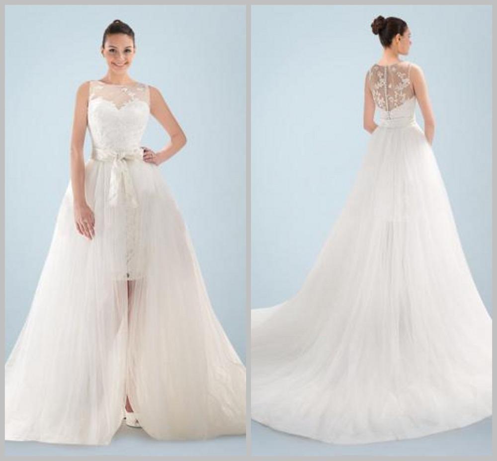 Detachable Skirt Wedding Gown: Aliexpress.com : Buy Fashionable Civil Detachable Skirt