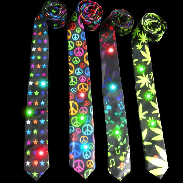 Cool Led Light Up Christmas Tie,Flashing Necktie - Buy ...