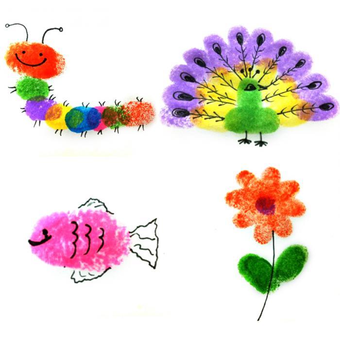 Grosshandel 24 Farbe Multi Farbe Stempelkissen Kinder Fingerabdruck