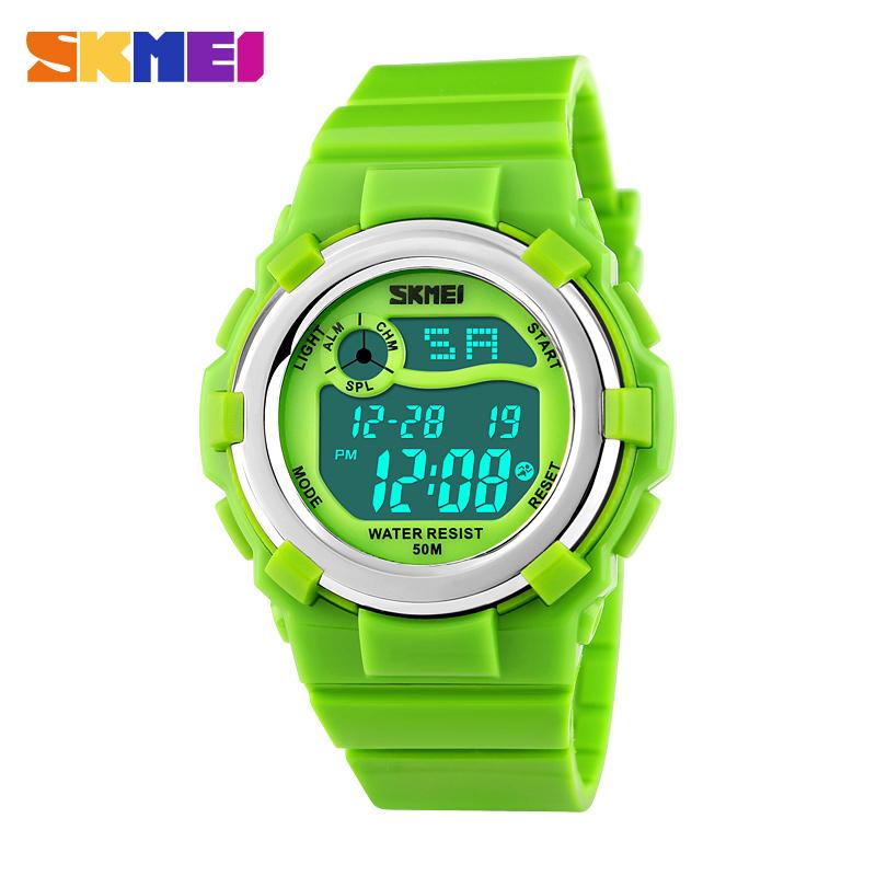 Children LED Digital Watch Relogio Feminino Sports Watches Kids Cartoon Jelly Relojes Mujer Waterproof Wristwatches 2016 SKMEI