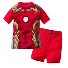2T 7T High Quality Cotton Baby Boy Kids Toddler Children Suits Clothing Clothes Set 2pcs Baby