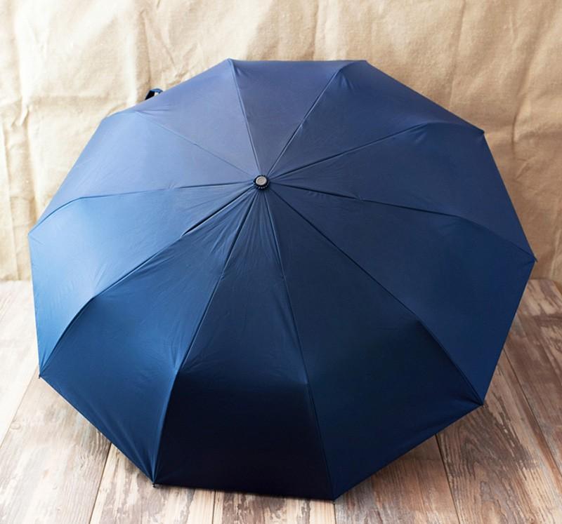 High Quality Wood Handle Fully Automatic Umbrella 10-Rib Sun Rain Umbrella  For Women Men Super Windproof Anti-UV Large Parasol - us514 80a47aeb2d0f