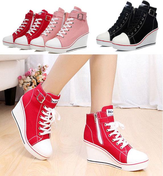Korean wedge shoes for women