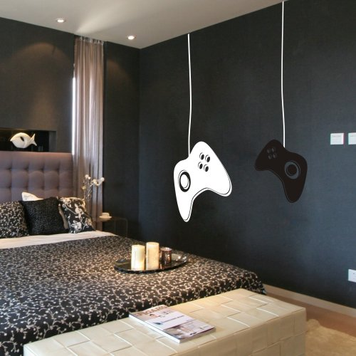 gamer wandtattoos werbeaktion shop f r werbeaktion gamer wandtattoos bei. Black Bedroom Furniture Sets. Home Design Ideas
