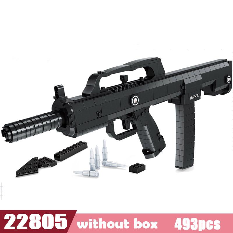 SWAT AK47, снайперская винтовка, пистолет, Desert Eagle, наборы, Legoes, строительные блоки, детские мальчики, собираемые игрушки, пушки, пакеты, оружие(Китай)