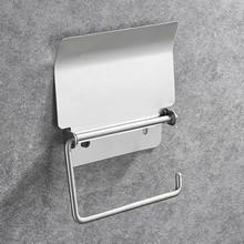 Качественный настенный держатель для телефона для ванной комнаты держатель для туалетной бумаги держатель для рулона из нержавеющей стали...(Китай)