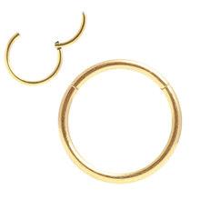 Шарнирная перегородка кликер сегмент нос кольцо для губ ухо хрящ Daith пирсинг ювелирные изделия 20 г 18 г 16 г 14 г 12 г 316l хирургическая сталь(China)
