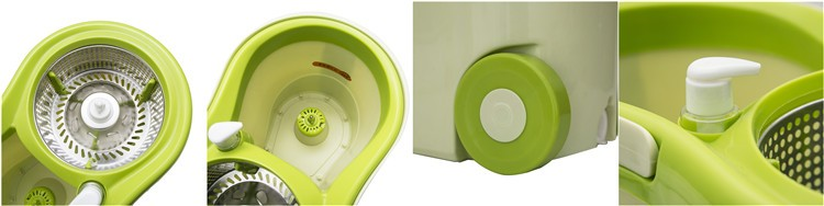 Houseware products 360 rotation mop bucket microfiber cleaning mop