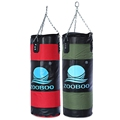 70cm Boxing Punching Bag FItness Sandbags Striking Drop Hollow Empty Sand Bag with Chain Martial