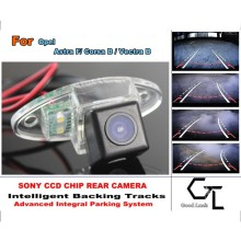 For Opel Astra F/ Corsa B / Vectra B Car Reverse Rear Camera with Parking Assistance Tracks Module / imports HD CCD Night Vision