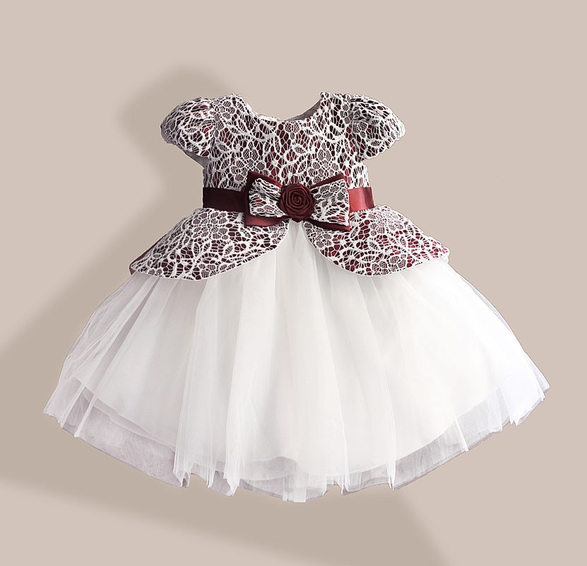 Detail Feedback Questions about Lace Flower Girl Dress TUTU style ... ea1e482370e8