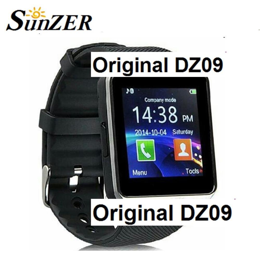 2016 Fashion Hot Smart Watch DZ09 Sim Phone Watch Bluetooth Smartwatch Support
