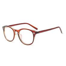 SO & EI классические ретро оптические Женские оправы для очков круглые украшения ногтей прозрачные линзы могут быть оснащены очками для близо...(Китай)