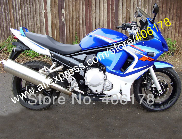 hot sales blue white for suzuki gsx650f gsx650 f gsx 650f. Black Bedroom Furniture Sets. Home Design Ideas