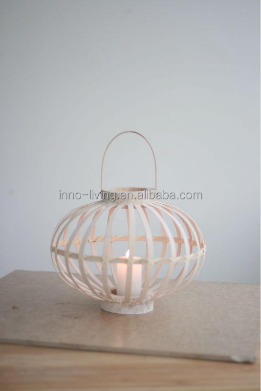 mini lanternes bougie lanterne en bambou bougeoirs id de. Black Bedroom Furniture Sets. Home Design Ideas