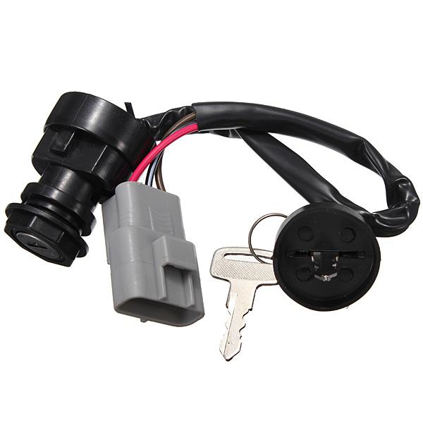 Авто ATV зажигания 3 контакт. разъем для Yamaha гризли 660 YFM660 2002 - 2008