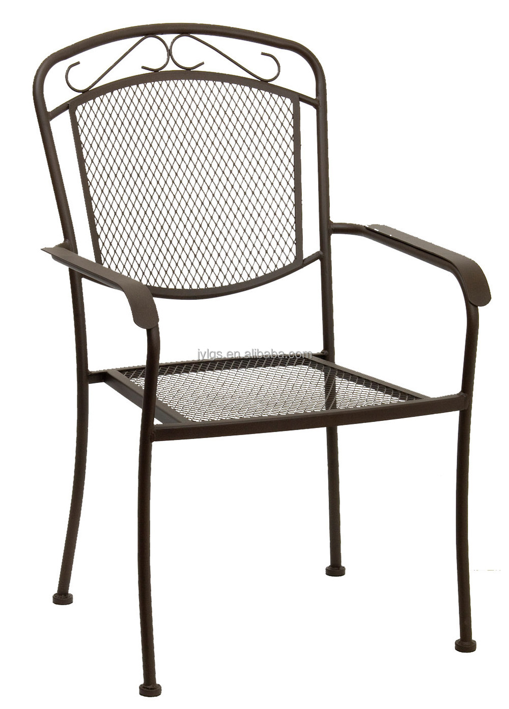metal mesh dining round table and chairs outdoor furniture balcony buy restaurant dining. Black Bedroom Furniture Sets. Home Design Ideas