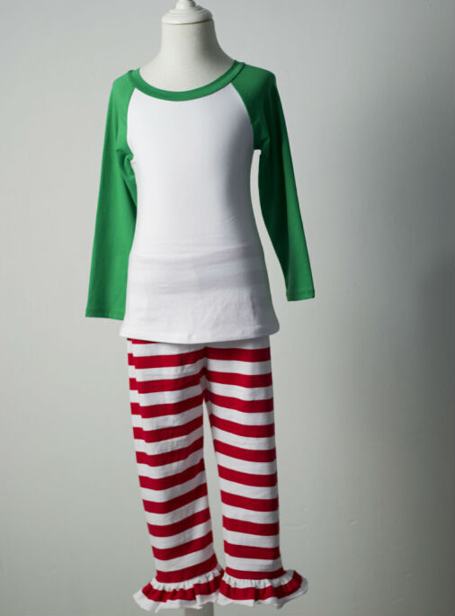 c92d79d367 Boutique Clothing Teenage Child Boys Girls Winter Pajamas Red Green ...