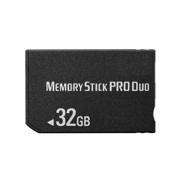32gb ms memory stick pro duo card storage for sony psp. Black Bedroom Furniture Sets. Home Design Ideas