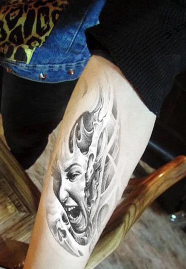 achetez en gros images de tatouage bras en ligne des grossistes images de tatouage bras. Black Bedroom Furniture Sets. Home Design Ideas