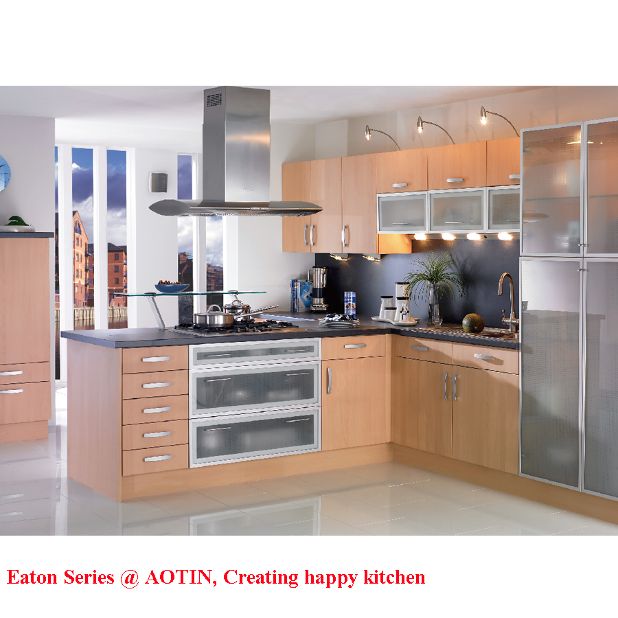 Melamine Kitchen Cabinets: Economical Melamine Faced Kitchen Cabinet For Project Use