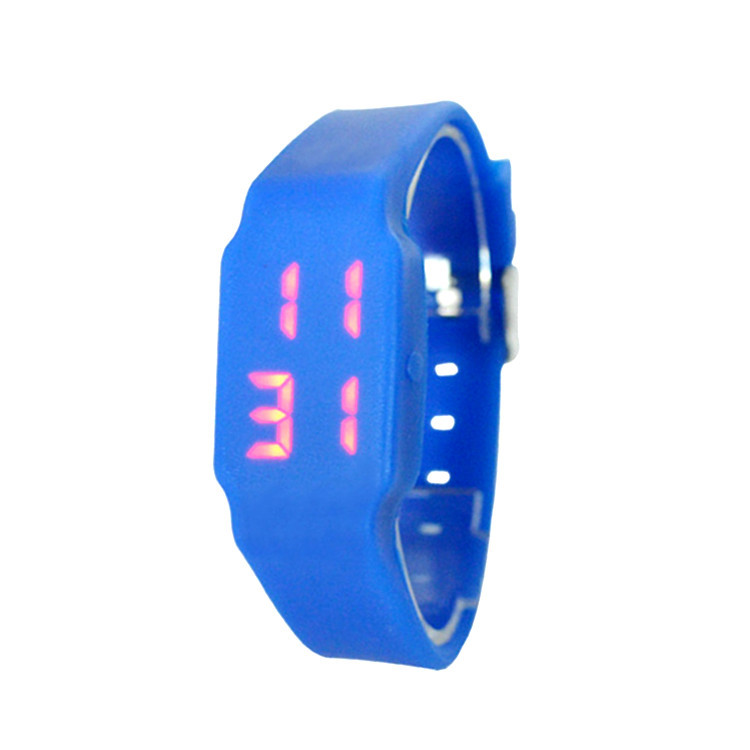 Hot Sale Watch Led Silicone Electronic Student Watches Kids Slap Watches Zegarki Men Digital Watches