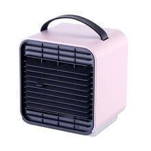 Мини USB портативный кондиционер вентилятор цифровой кондиционер очиститель Светильник Настольный охладитель воздуха Охлаждающий вентиля...(Китай)