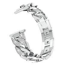 Мода 2020 г. Роскошные для мужских и женских часов для huawei Часы GT заменить для мужчин t роскошные нержавеющая сталь крюк пряжки браслет бретели...(Китай)