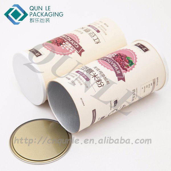 custom circle protein powder packaging buy custom round protein